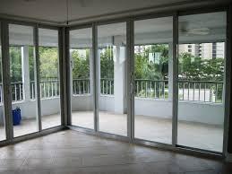 great design sliding glass doors ideas features large glass sliding door and stainless steel door frames