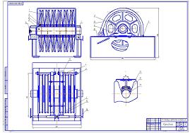 Курсовая работа Модернизация кронблока Машиностроение и  чертеж Курсовая работа