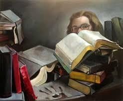 Priscilla Warren Roberts - Self Portraits with Books