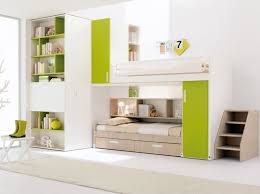... Green and White Modern Bunk Bed Designs Ideas ...