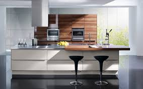 Modern Kitchen And White Kitchen Cabinets Black Granite On Kitchen Design Ideas With