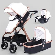 2019 babyfond leather baby strollers 3 in 1 high quality send car seat and independent baby bassinet from entent 596 4 dhgate com