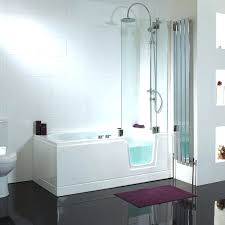 walk in shower tub combo bathroom amazing tubs and showers bathtubs s pertaining to combination plan walk in shower tub combo