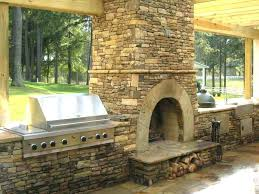 free outdoor fireplace construction plans masonry