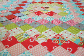 Trip Around The World Quilt Pattern Mesmerizing A New Scrappy Trip Around The World Quilt Clover Violet