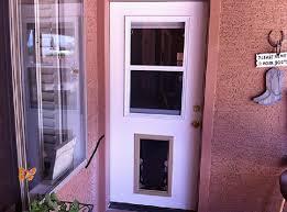 exterior door with window and dog door. pet door gallery exterior with window and dog e