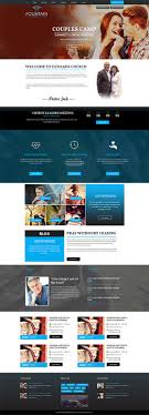 Web Designs For Churches Modern Professional Church Web Design For A Company By