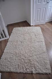 ikea vitten rug high pile white handmade white 100 wool ikea high pile grey rug