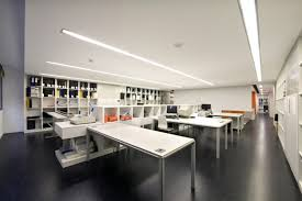 white office design. Black Floor, White Office Furniture Design O