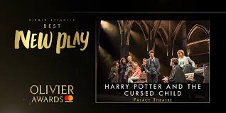 Image result for images of cursed child cast olivier awards best play