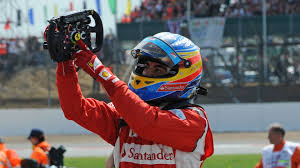 A precise, robust and realistic racing wheel. Fernando Alonso Pointing At The Prancing Horse On His Ferrari Steering Wheel After Winning The 2011 British Grand Prix Formula1