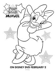 Mickey Mouse Coloring Pages Free For Kids To Is Surfing Minnie Happy