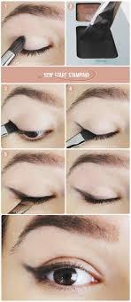 mini smoked wing eye using eye shadows