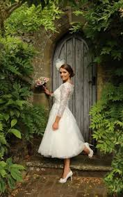 plus size wedding dresses with sleeves tea length plus figure tea wedding dress large size mid length bridals dresses