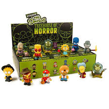 Simpsons Treehouse Of Horror Blind Box Mini Series  KidrobotSimpsons Treehouse Of Horror Kidrobot