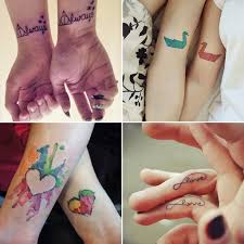 Matching Tattoos For Lovers That Will Grow Old Together Ohh My My