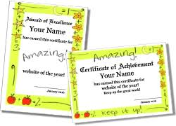 Printable Math Certificate Templates