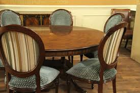 round mahogany dining table large 64 88 inch expandable round mahogany dining table best