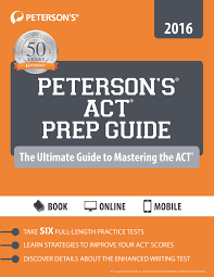 test prep choosing the act or sat order peterson sreg actreg prep guide