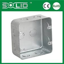 3 3 25mm 35mm 47mm deep square galvanized steel outlet box for 3 quot 3 quot 25mm 35mm 47mm deep square galvanized steel outlet box for electrical