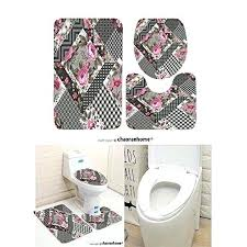 contemporary bathroom rugs sets bathroom bathroom elegant bathroom rug sets new pattern bath mat set 3