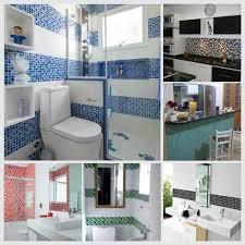 Veja fotos de decoração de banheiros com faixas. Pastilhas Adesivas Faixas Para Azulejo Cozinha Banheiro Kit 10 Faixas 3 2 Metros Mozaico Decoracao Papel De Parede Shopee Brasil