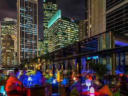 infinity pool singapore night. Destination - SO Sofitel Singapore Infinity Pool Night I