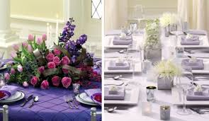 View in gallery Contrasting styles of decorating with purple hues!