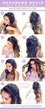 Headband Hair Style 25 best braid headband tutorial ideas braided 1461 by wearticles.com