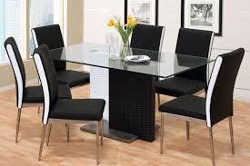 modern black and white furniture. Black And White Dining Chairs 17 Table Set Endearing Modern Within Incredible Popular.jpg Furniture