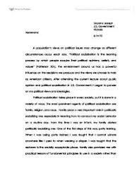 political socialization essays politics essays samples examples