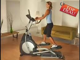 2 off horizon fitness ex 57 elliptical trainer