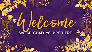 Welcome Purple Autumn Breeze Welcome Motion