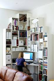 ideas for a small office. Small Home Office Ideas With Contemporary Storage Units You Can Make Good Use Of A Corner For 4