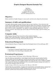 Graphic Designer Resume Sample Graphic Design Resume Sample Designer Image Examples Resume 56
