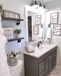 110 spectacular farmhouse bathroom decor ideas roomadness com