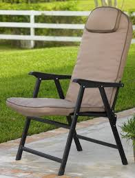 padded folding patio chairs. Extra-Wide Folding Padded Outdoor Chair (Khaki) Patio Chairs Amazon.com