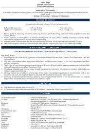 Software Engineer Resume Sample Experienced Download Resume Samples