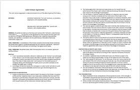 Investment Agreement Templates Property Investment Agreement Template Myexampleinc