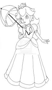 Small Picture Good Princess Peach Coloring Page 36 About Remodel Gallery