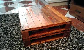 coffee table made from crates tables wood pallets wine crate