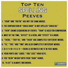 spelling  pet peeves and pets on pinterest