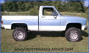 87 K10 Short Bed SWB Silverado fuel injected 6 inch lift 4x4 1987 ...
