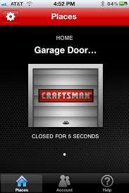 craftsman assurelink internet connected dc belt drive garage door