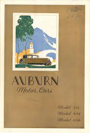 Foldable Paper Car 1930 Auburn Motor Cars Archives Chucks Toyland