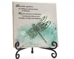 dragonfly dragonfly plaque dragonfly gift dragonfly tile symbolizes our ability to overe teal dragonfly dragonfly home decor