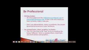 Resume Writing 101 How To Write A Resume As A Military Veteran