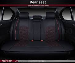 only car rear seat covers for jac rein