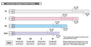 Collar Size Chart Personalized Rhinestone Charm Collar