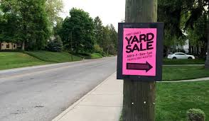 Make A For Sale Sign Yard Sales How To Host Pricing And Tips Checklist